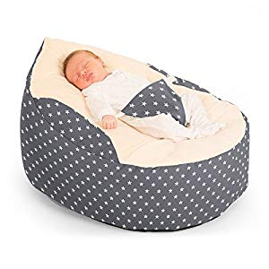Terrific Rucomfy Luxury Cuddle Soft Stars Gaga Baby Bean Bag Its A Useful Item For My Baby But It Makes Him Sweat Andrewgaddart Wooden Chair Designs For Living Room Andrewgaddartcom